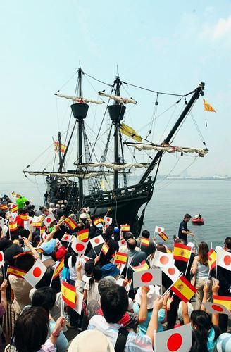 復元帆船ビクトリア号